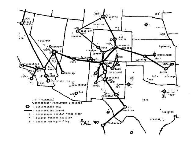 ondergronds netwerk USA