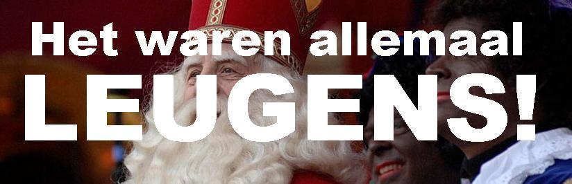 Sinterklaas bestaat niet!