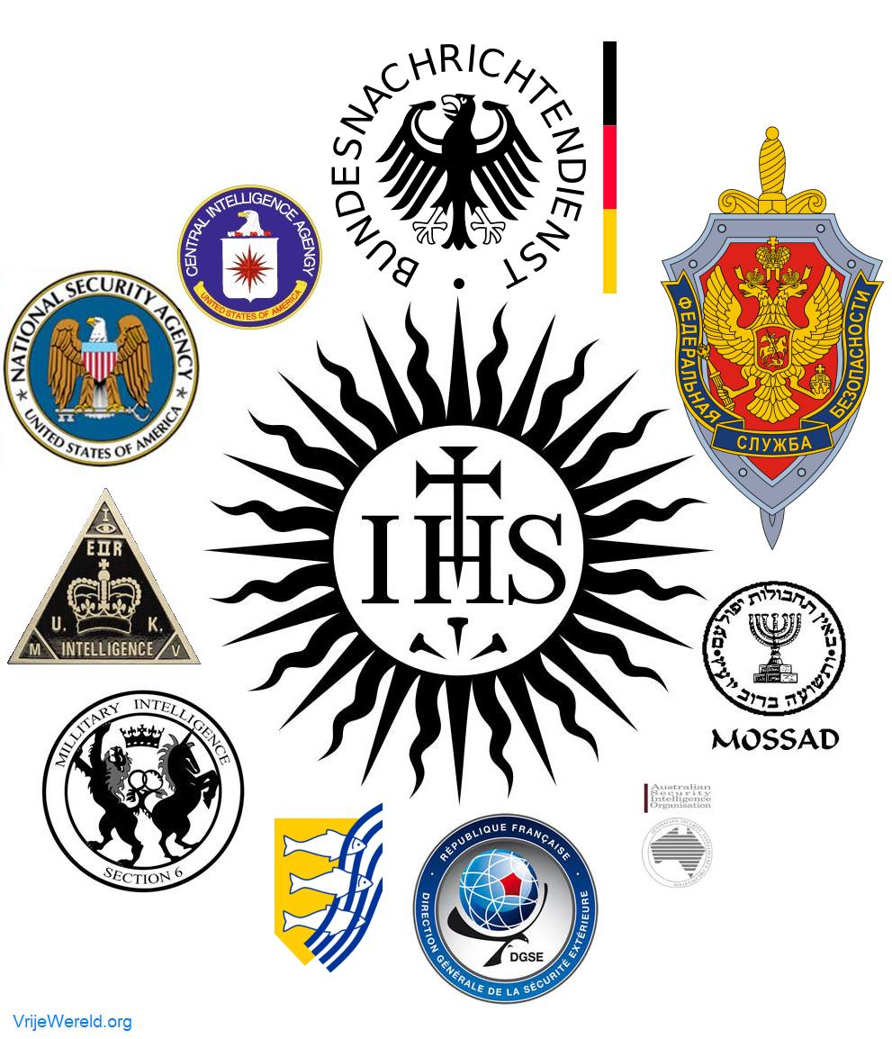 JESUIT CONTROL OF INTELLIGENCE AGENCIES