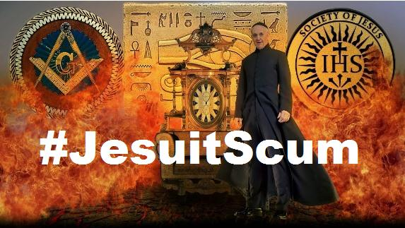jesuit scum pope francis nazi